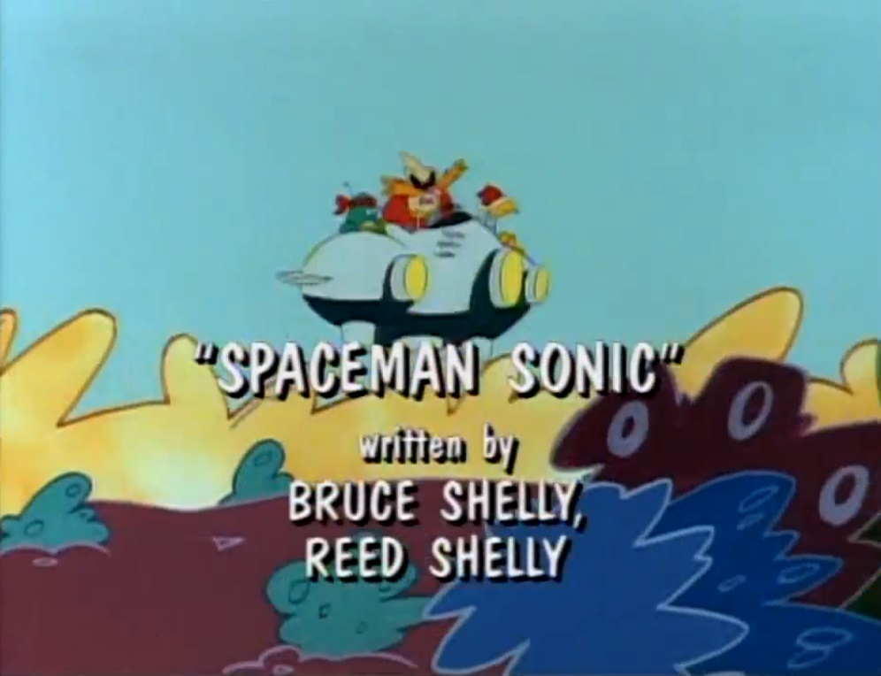 Spaceman Sonic