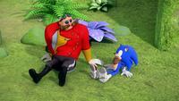 SB S1E22 Eggman Sonic succeed