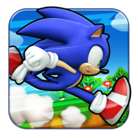 Sonic Runners App Icon 2.0