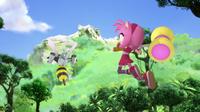 Amy and bee bot