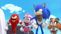 SB S1E18 Team Sonic defiant