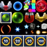 Sonic Dash Particles