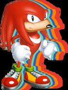 Sonic Mania Knuckles art 2
