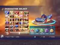 SART Character Select