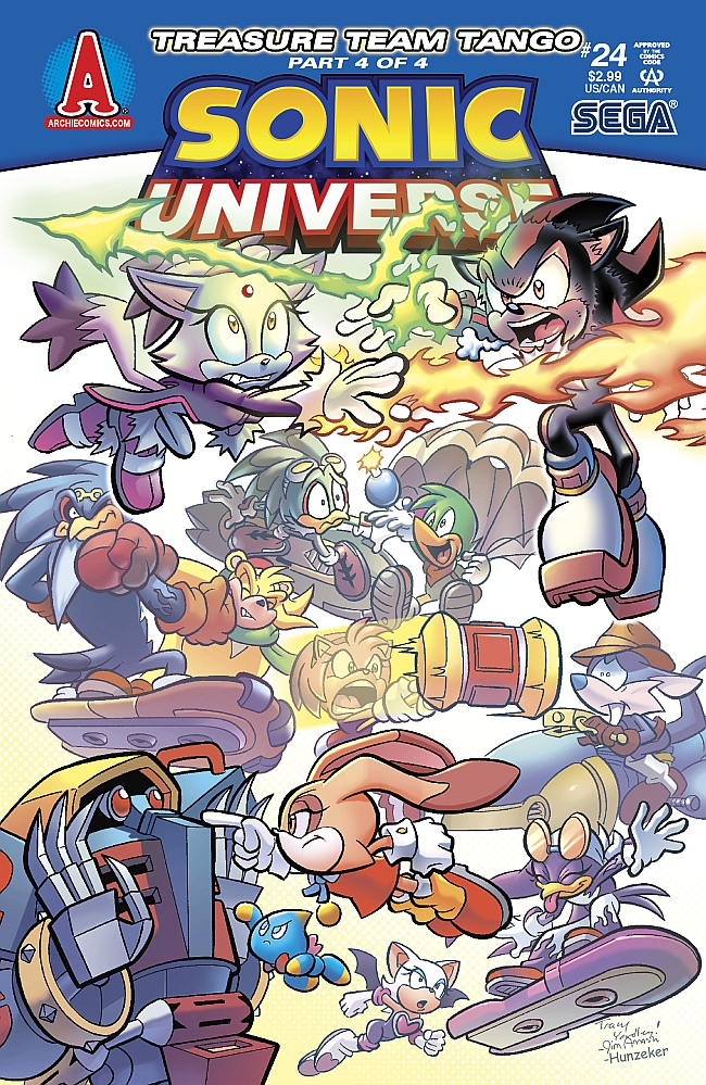 Sonic Universe Issue 24