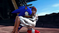 Sonic ratuje Elise
