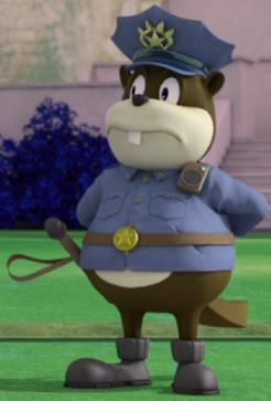 Beaver Policeman (alternate dimension)