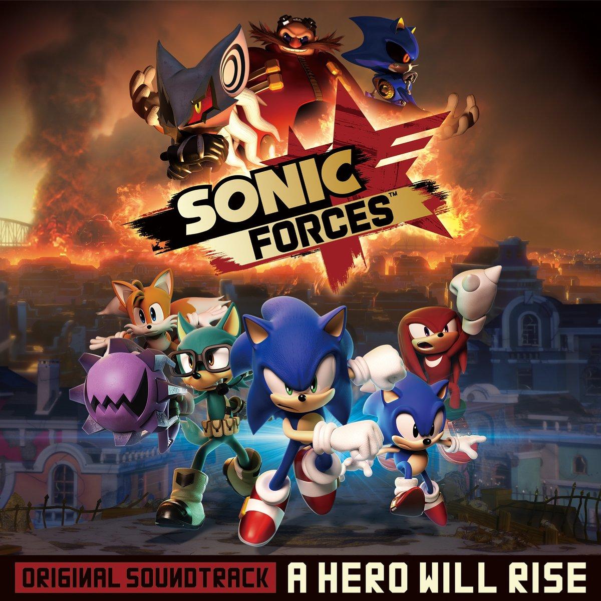 Sonic Forces Fist Bump