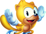 Ray the Flying Squirrel (Mundo de Classic Sonic)