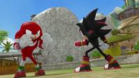Knuckles vs Shadow