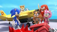 SB S1E18 Team Sonic victory