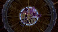 SB S1E46 Sticks Amy bicycle
