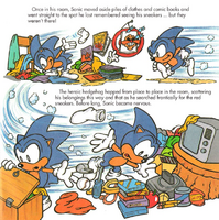 Sonic's Shoes Blues - page 7