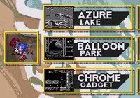 Sonic 3 Competition screen 4