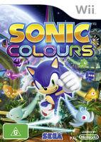 Sonic Colours AUS cover