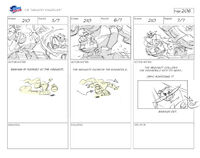 Unlucky Knuckles storyboard 25