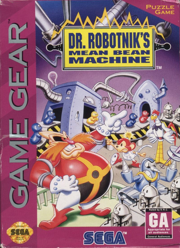 Dr. Robotnik's Mean Bean Machine (8-bit)