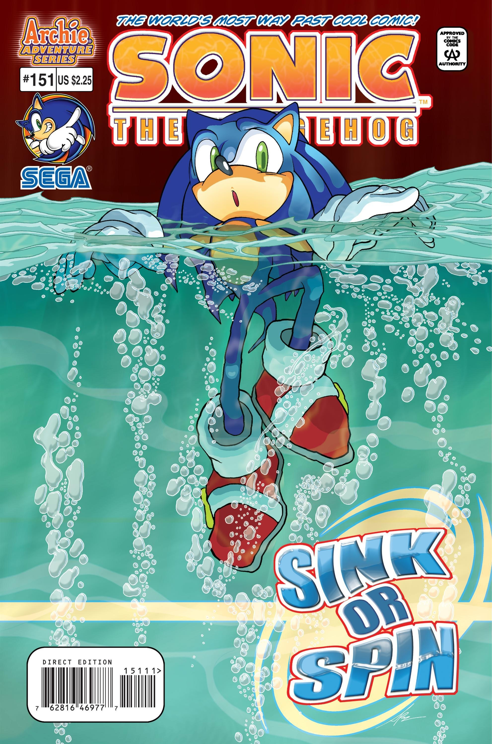 Archie Sonic the Hedgehog Issue 151