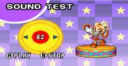 Sonic Advance 2 menu 1