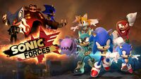 Sonic Forces JP PlayStation 4 banner
