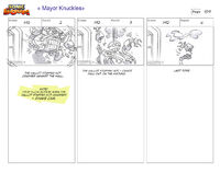 Mayor Knuckles storyboard 4