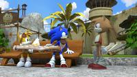 S1E17 Tails Sonic sandwich