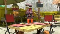 S1E26 Meh Burger table
