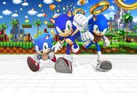 Sonic 25th key art