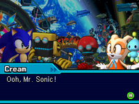 Cream Sonic Colors