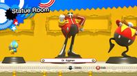 Dr. Eggman statue