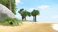S1E14 Sonic beach