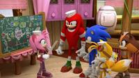 SB S1E27 Team Sonic plan