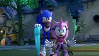 SB S1E50 Sonic surprise Amy
