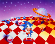 Sonic 3 Special Stage art