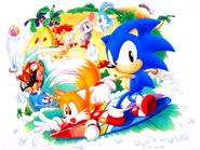Sonic Screen Saver art 27