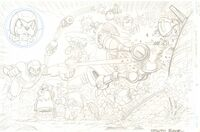 Sonic the Hedgehog -240 p.4 - All Pencil Action Page