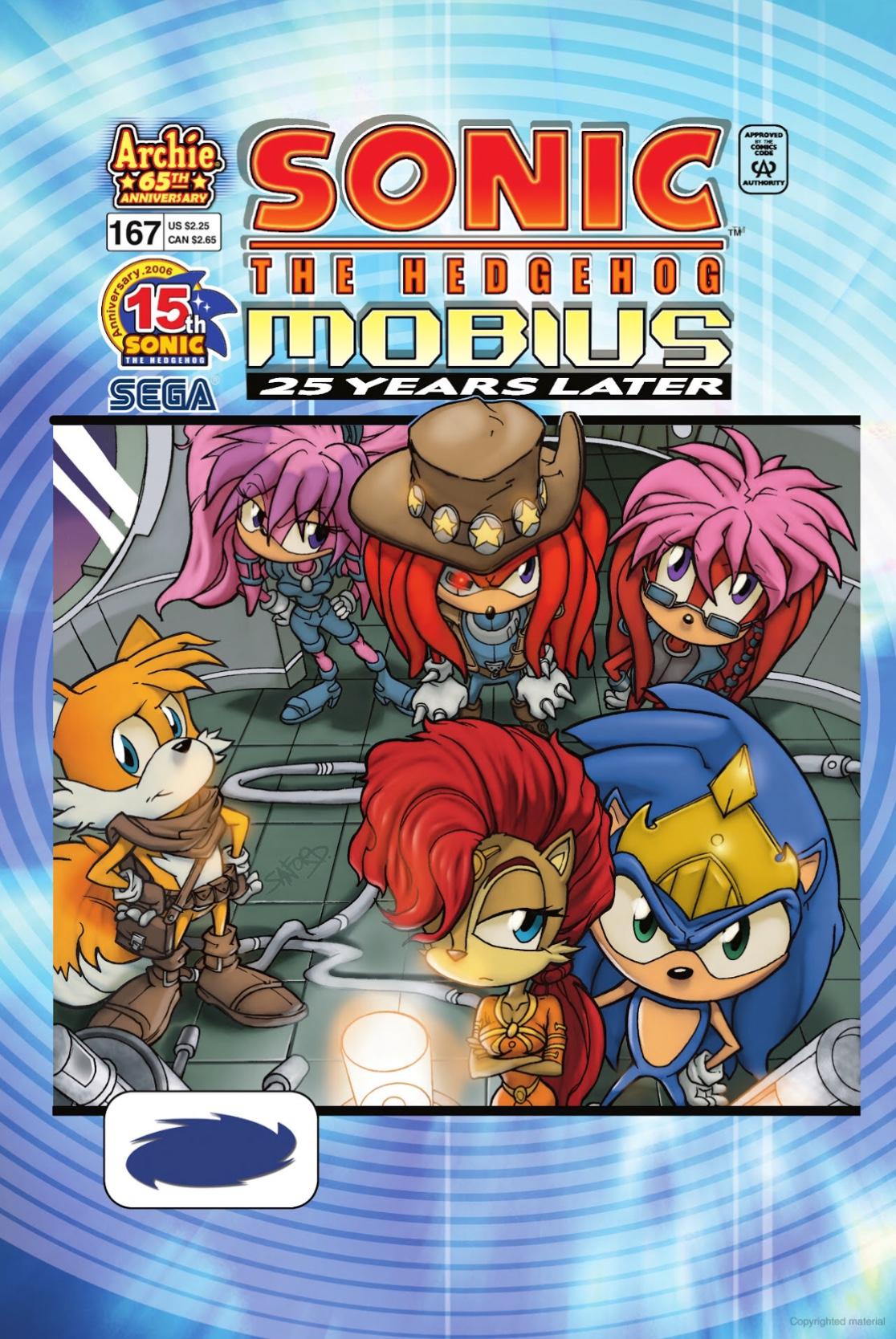 Archie Sonic the Hedgehog Issue 167