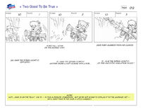 Two Good to Be True storyboard 1
