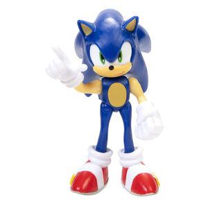 "Sonic the Hedgehog METAL SONIC 4/"" Bendable Figure w// accessory Wave 2 jakks"