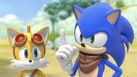 SB S1E13 Tails Sonic advice