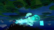 Sonic Lost World - Cyan Laser