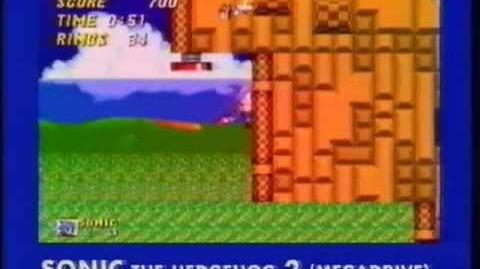 Sonic the Hedgehog 2 (прототип Mean Machines Sega)