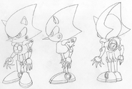 Metal Sonic koncept 4