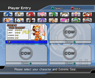 Riders Character Select 09