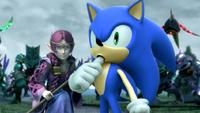 SATBK Sonic licking his thumb