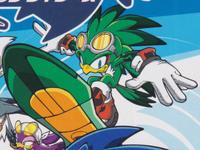 Sonic Riders art 2D promo Jet