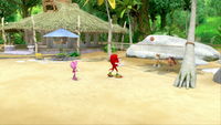 SB S1E19 Sonic's Shack volleyball court angle