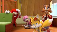 SB S1E46 Team Sonic recover
