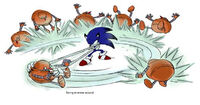 Sonic Unleashed concept swing