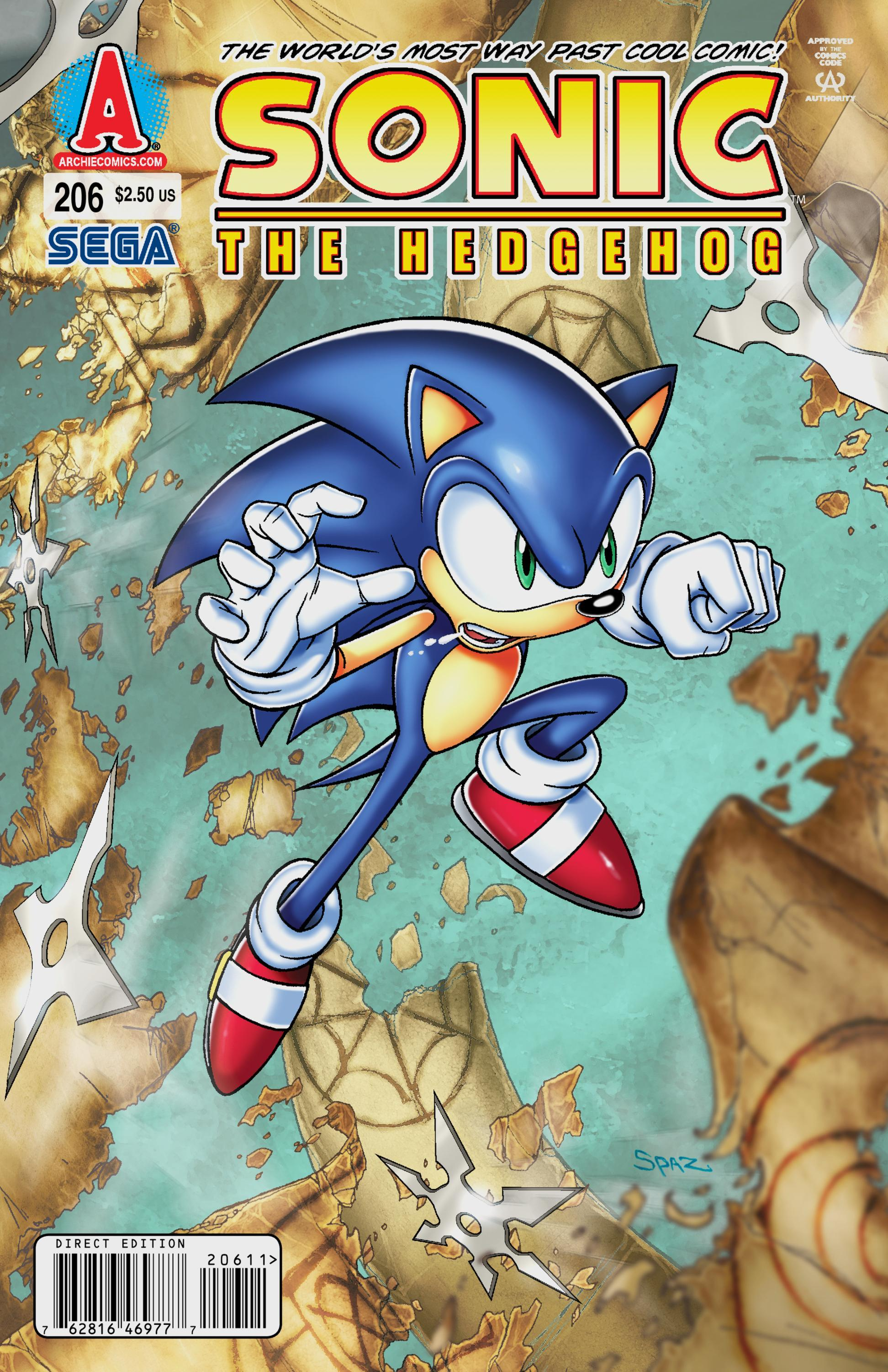 Archie Sonic the Hedgehog Issue 206